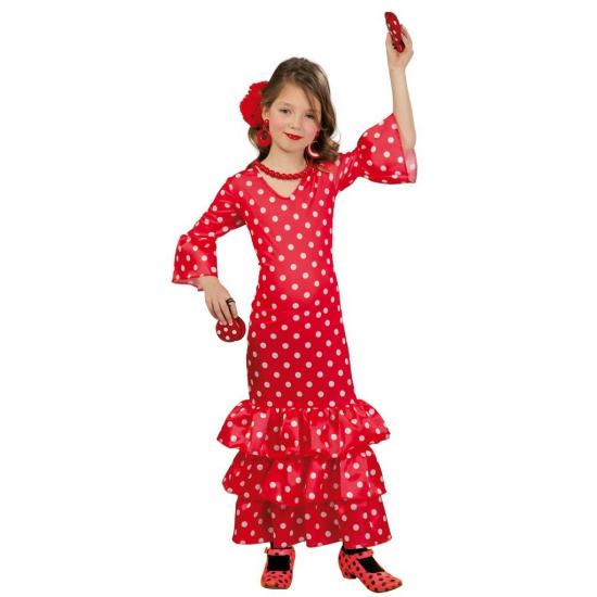 a69f145a5cf32f Rode flamenco jurk